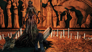 The World of Dark Souls II Crown of the Sunken King Elena, The Squalid Queen
