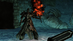 The World of Dark Souls II Crown of the Old Iron King Fume Knight