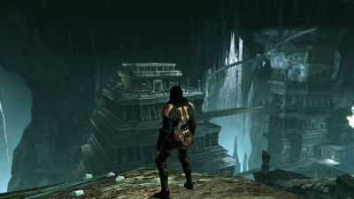 The World of Dark Souls II Crown of the Sunken King Shulva, Sanctum City