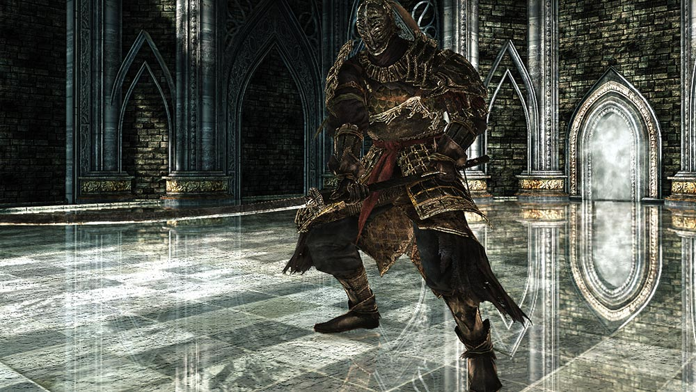 The World of Dark Souls II Crown of the Old Iron King Sir Alonne
