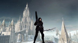 The World of Dark Souls II Crown of the Ivory King Frozen Eleum Loyce