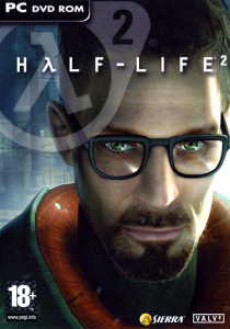 Half-Life 2 PAL PC Box Art