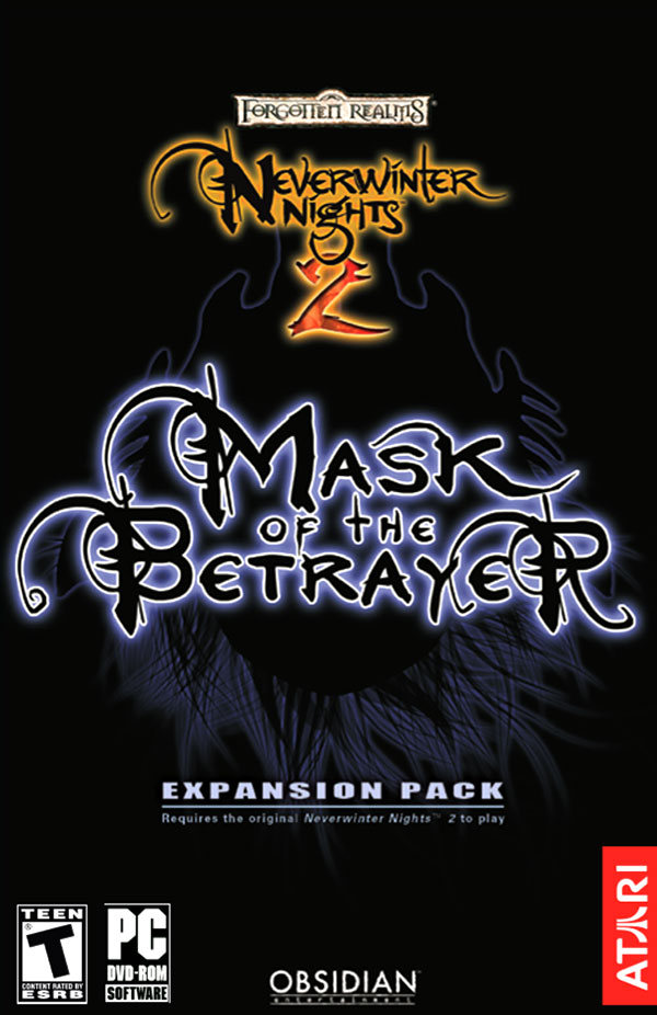 Neverwinter Nights 2: Mask of the Betrayer NTSC-U Box Art