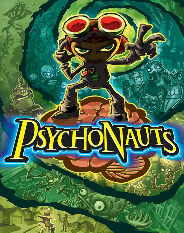 Psychonauts Box Art