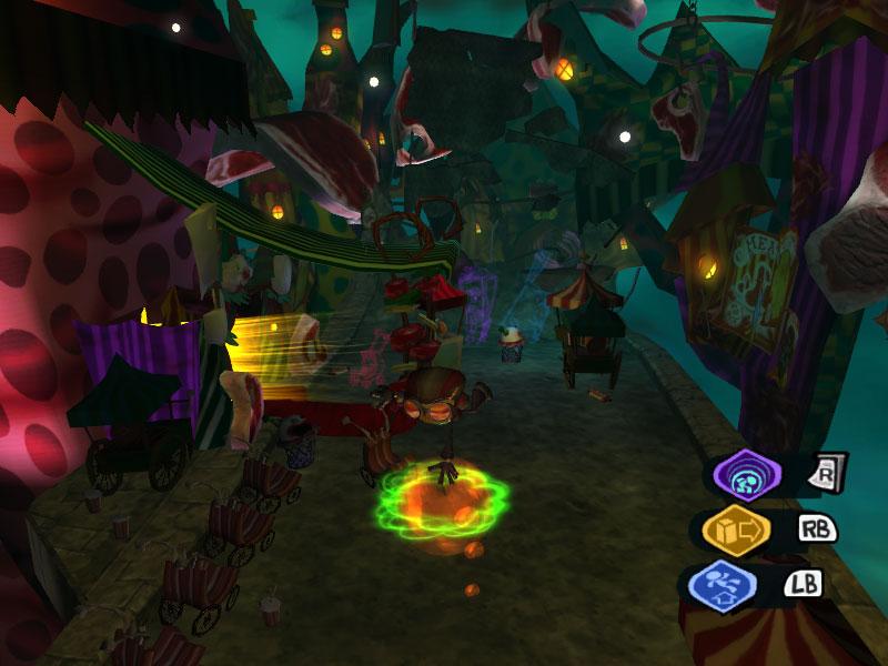 Psychonauts Gameplay Screenshot
