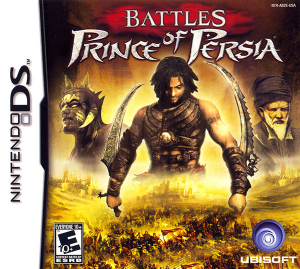 Battles of Prince of Persia Nintendo DS NTSC-U Box Art