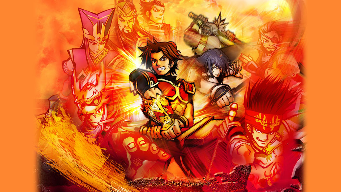 Dynasty Warriors DS: Fighter's Battle Artwork Banner