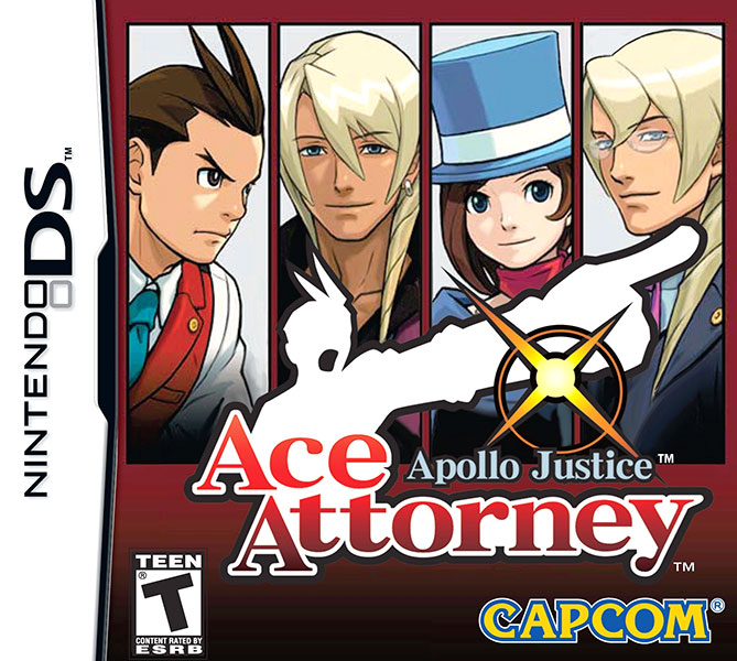 Apollo Justice: Ace Attorney Nintendo DS NTSC-U Box Art