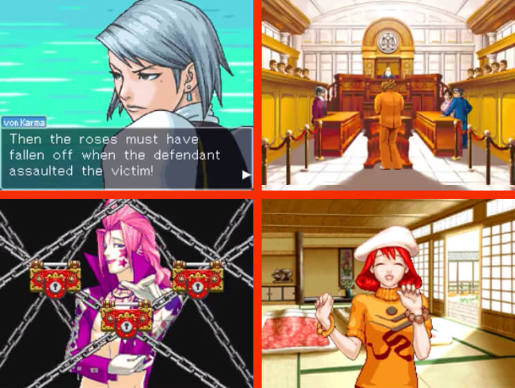Phoenix Wright: Ace Attorney - Justice for All Gameplay Screenshots