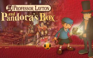 Professor Layton and Pandora's Box Banner