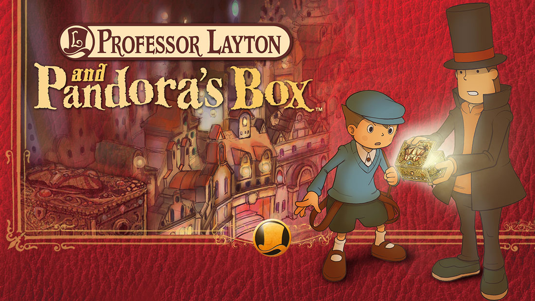 Professor Layton and Pandora's Box Banner