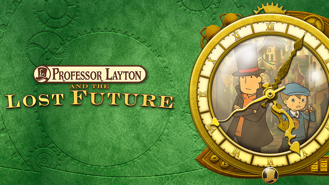 Professor Layton and the Lost Future Banner