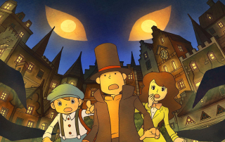 Professor Layton and the Spectre's Call Banner