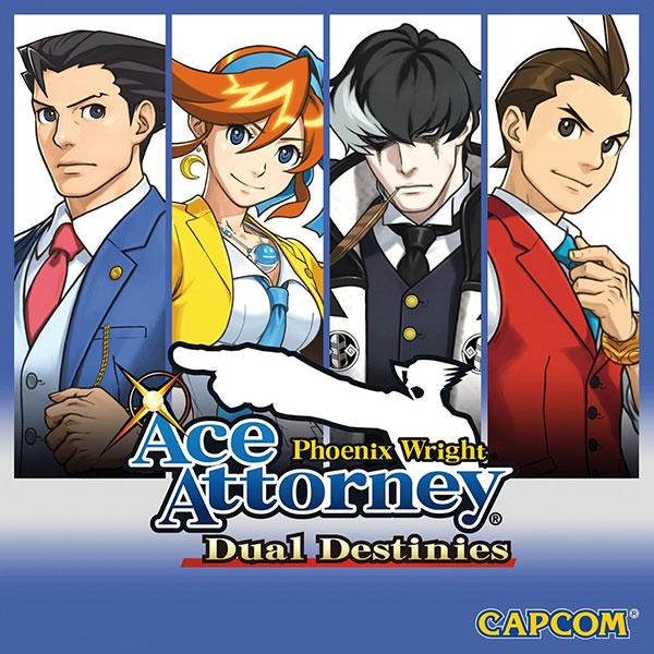 Phoenix Wright: Ace Attorney - Dual Destinies Nintendo 3DS Box Art
