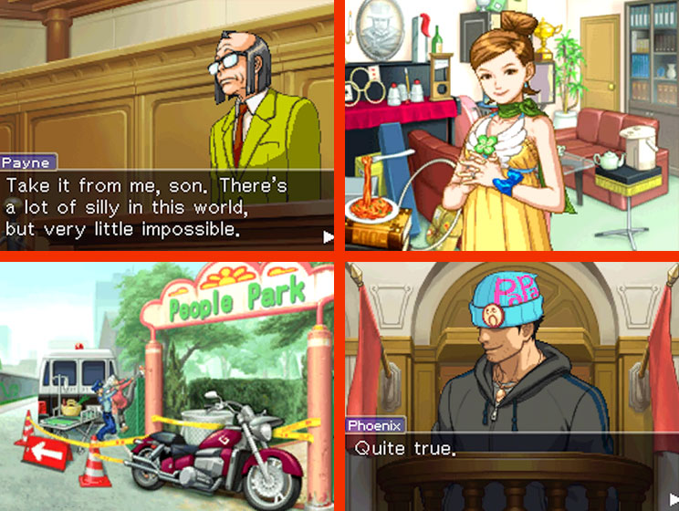Apollo Justice: Ace Attorney Gameplay Screenshot