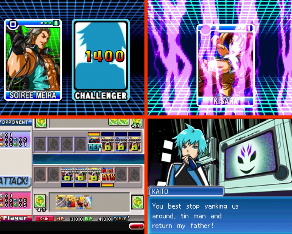 SNK vs. Capcom Card Fighters DS Gameplay Screenshot