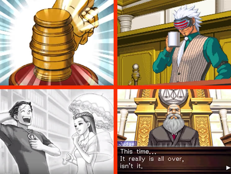 Phoenix Wright: Ace Attorney - Trials and Tribulations Gameplay Screenshot