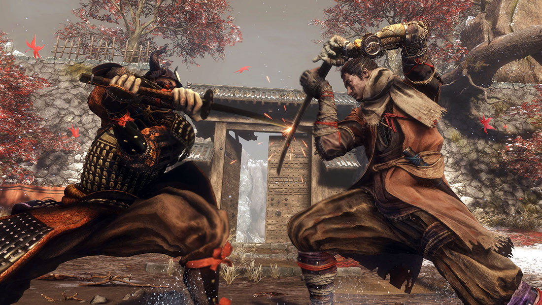Sekiro: Shadows Die Twice Gameplay Screenshot