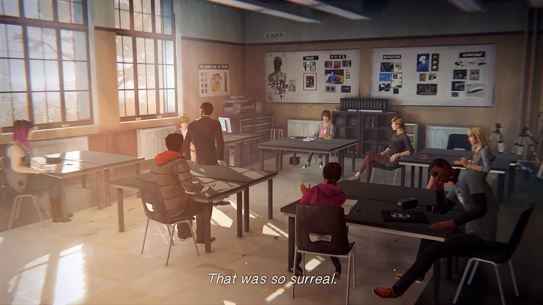 Life is Strange Gameplay Screenshot