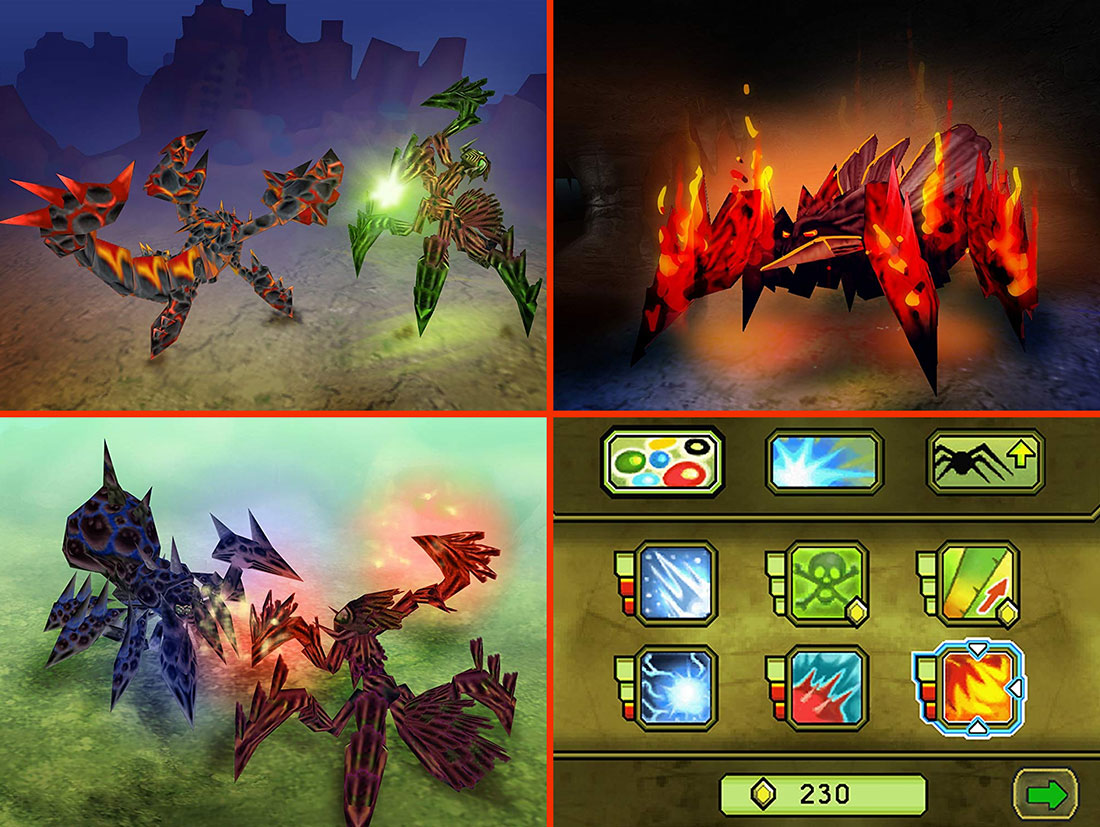 Combat of Giants: Mutant Insects Gameplay Screenshots