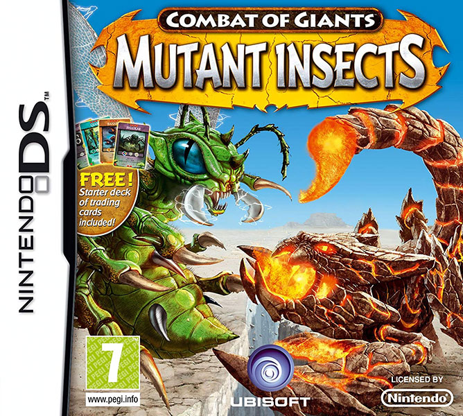 Combat of Giants: Mutant Insects Banner