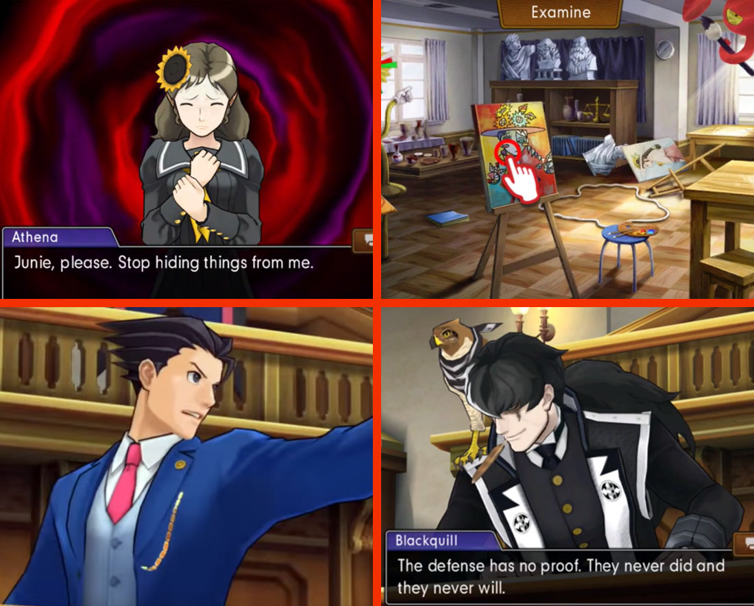 Phoenix Wright: Ace Attorney - Dual Destinies Gameplay Screenshots