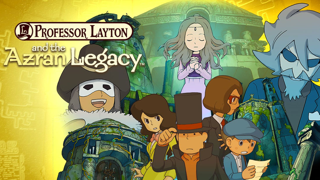 Professor Layton and the Azran Legacy Banner
