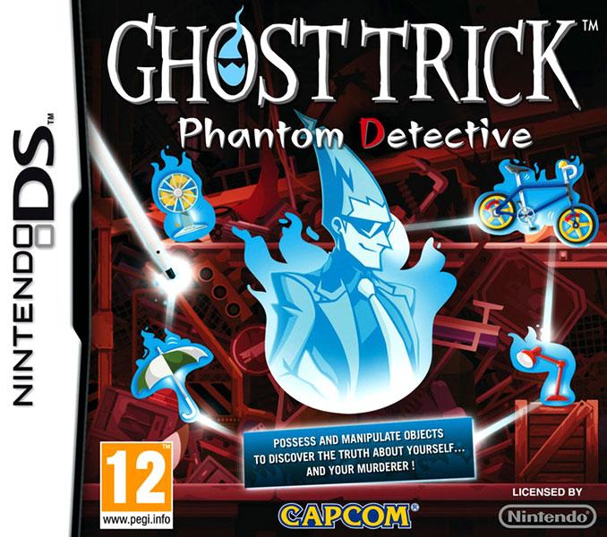 Ghost Trick: Phantom Detective PAL Box Art
