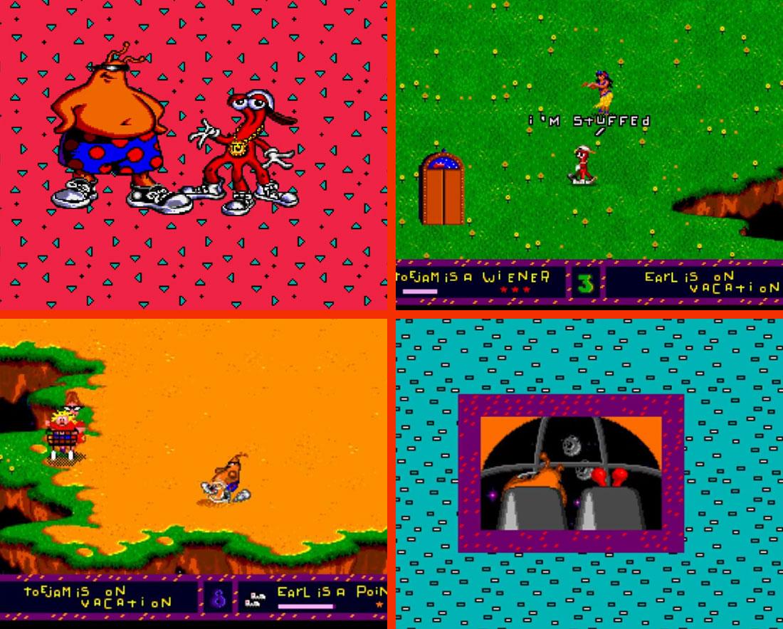 CelJaded Toejam and Earl Gameplay Screenshot
