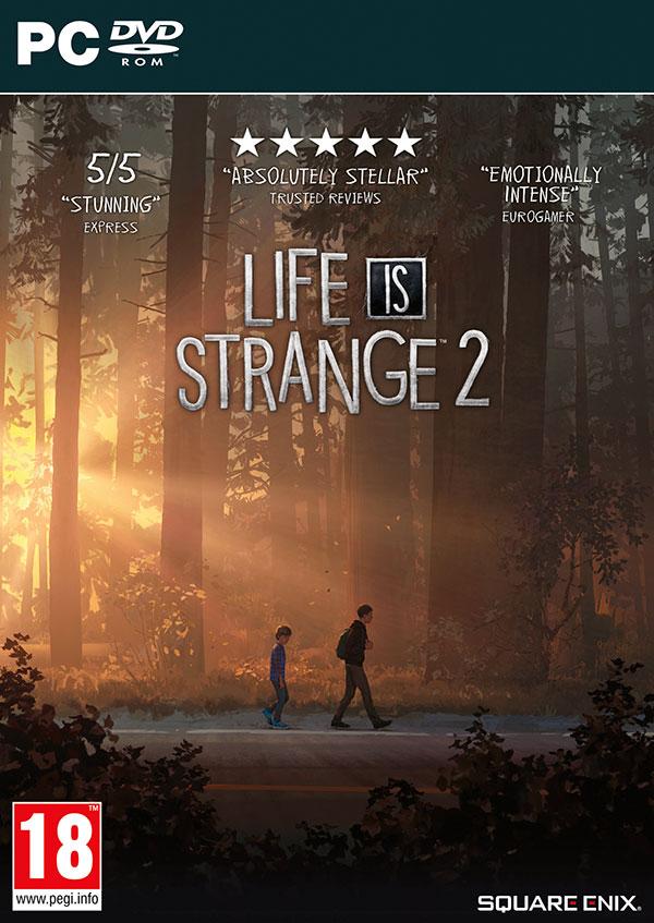 Life is Strange 2 PC Box Art