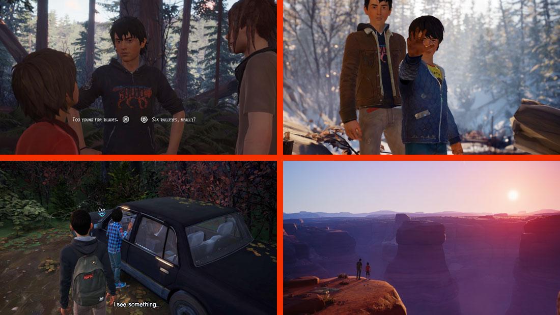 Life is Strange 2 Gameplay Screenshot