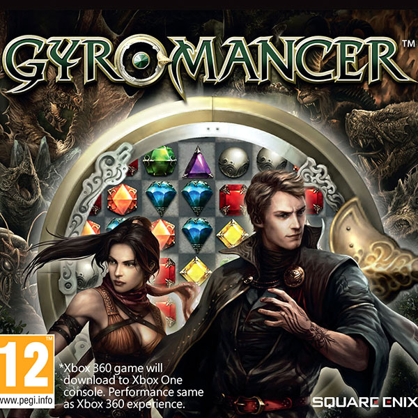 Gyromancer Xbox 360 PAL Box Art