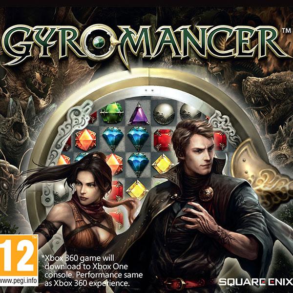Gyromancer Xbox 360 PAL Box Art
