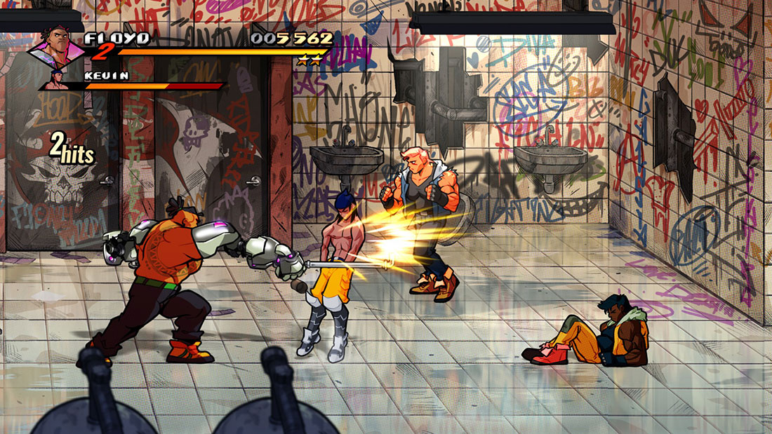 Streets of Rage 4 Gameplay Screenshot
