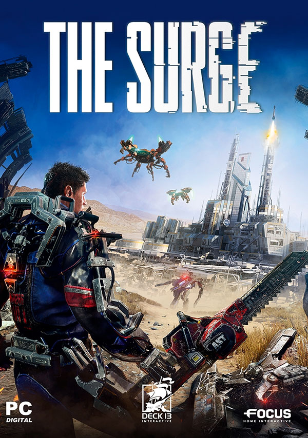 The Surge PC Box Art
