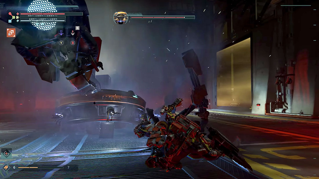 The Surge Gameplay Screenshot