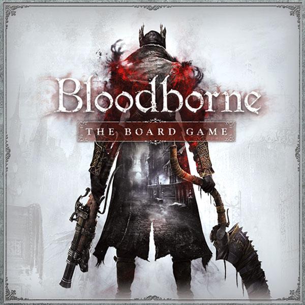 Bloodborne: The Board Game Box Art