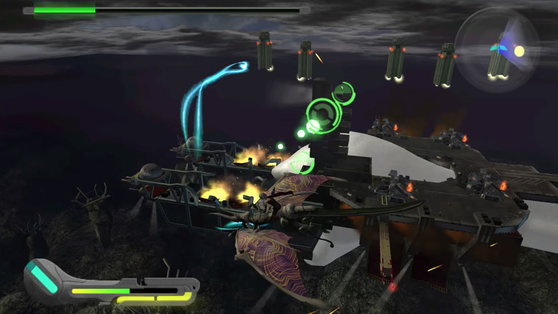 Panzer Dragoon Orta Gameplay Screenshot