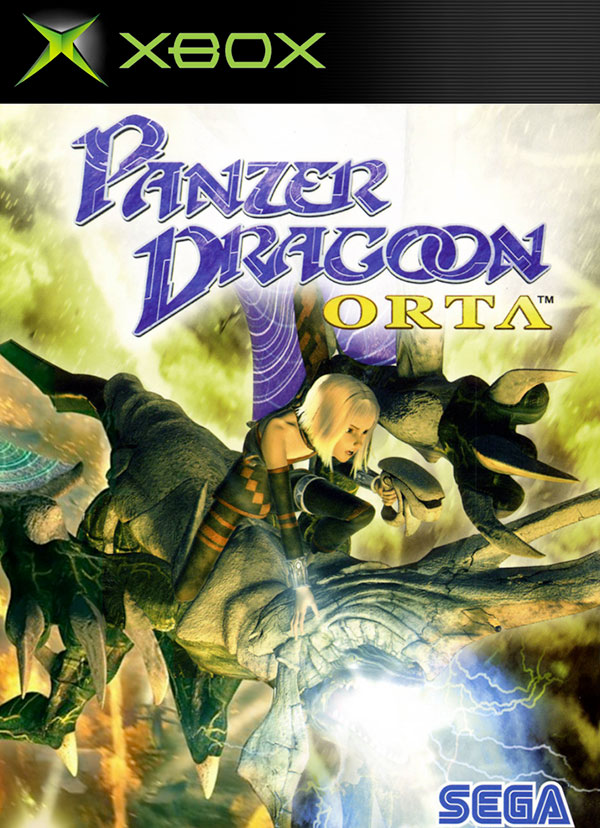 Panzer Dragoon Orta PAL Box Art