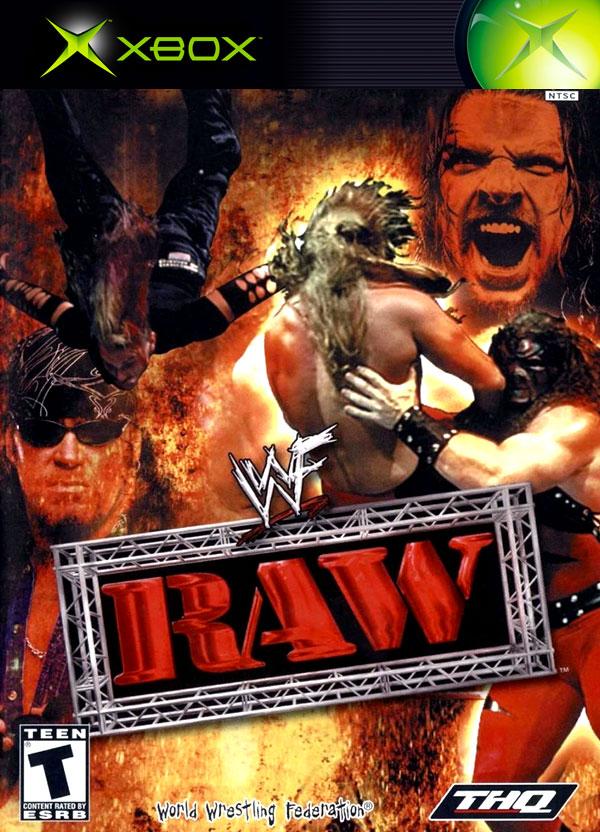 WWE Raw Xbox Cover Art