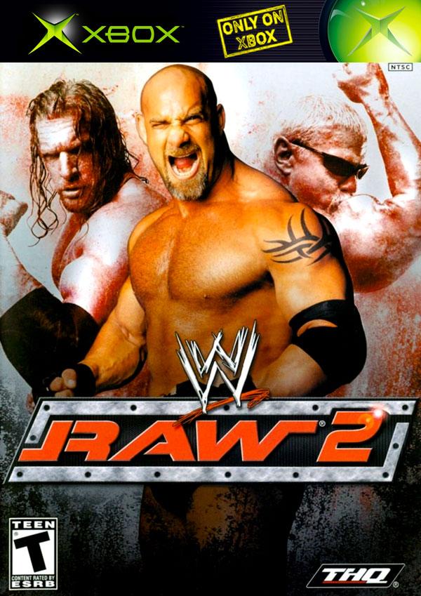 WWE Raw 2 NTSC Cover Art