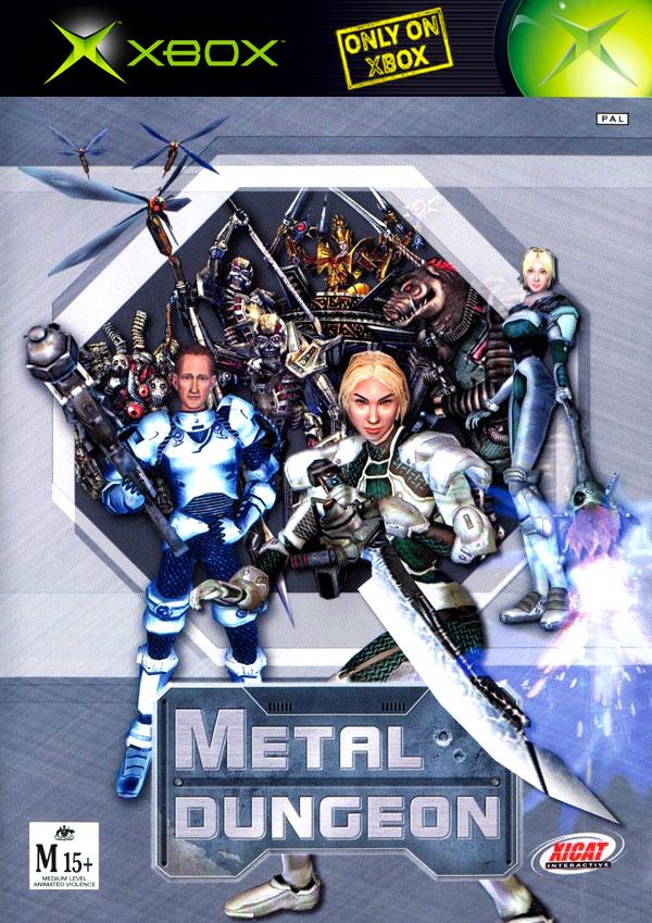 Metal Dungeon PAL Xbox Box Art