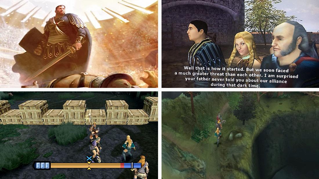 Gladius gameplay screenshots