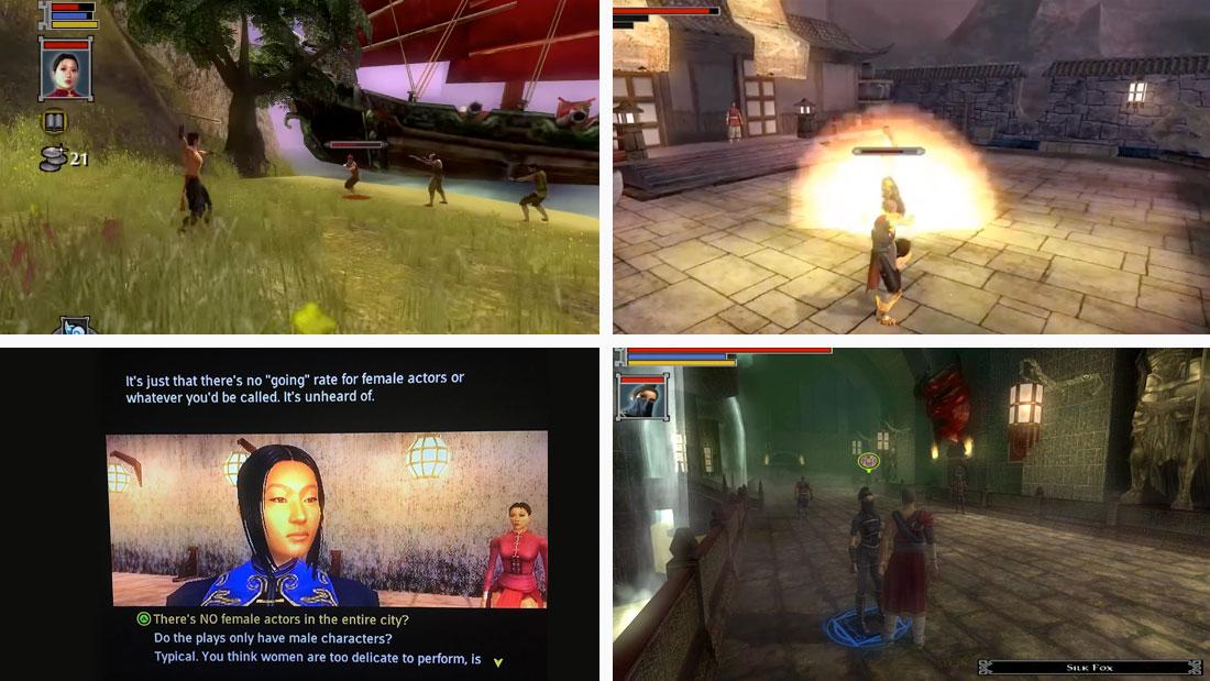 Jade Empire gameplay screenshots