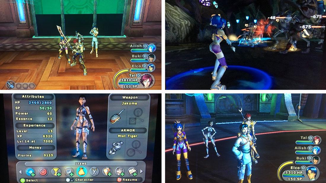 Sudeki gameplay screenshots